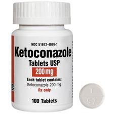 Ketoconazole is an antifungal