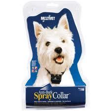 spray citonella anti bark collar dogs